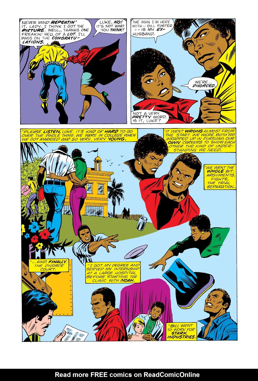 Read online Marvel Masterworks: Luke Cage, Power Man comic -  Issue # TPB 2 (Part 2) - 51