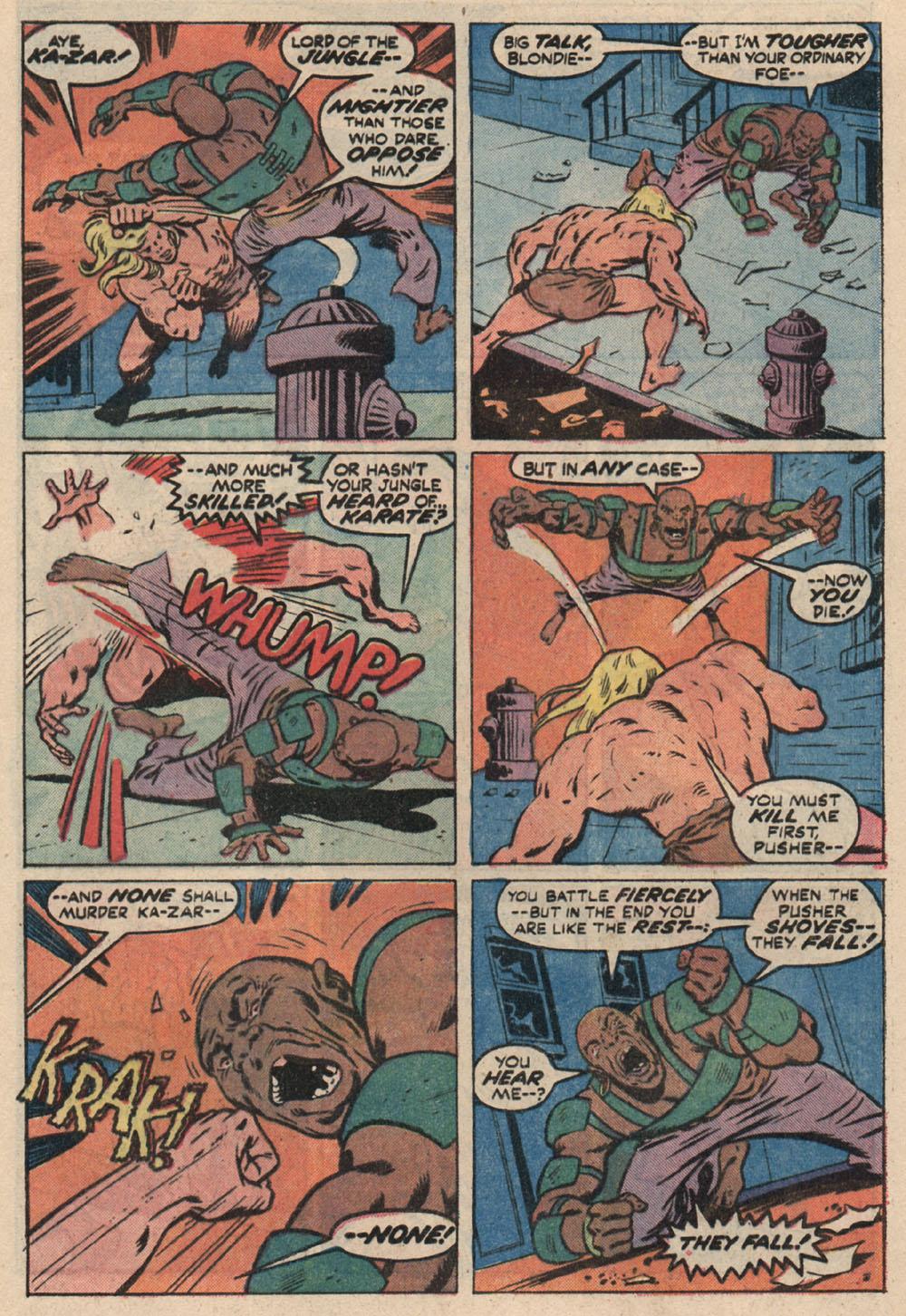 Read online Astonishing Tales (1970) comic -  Issue #16 - 19