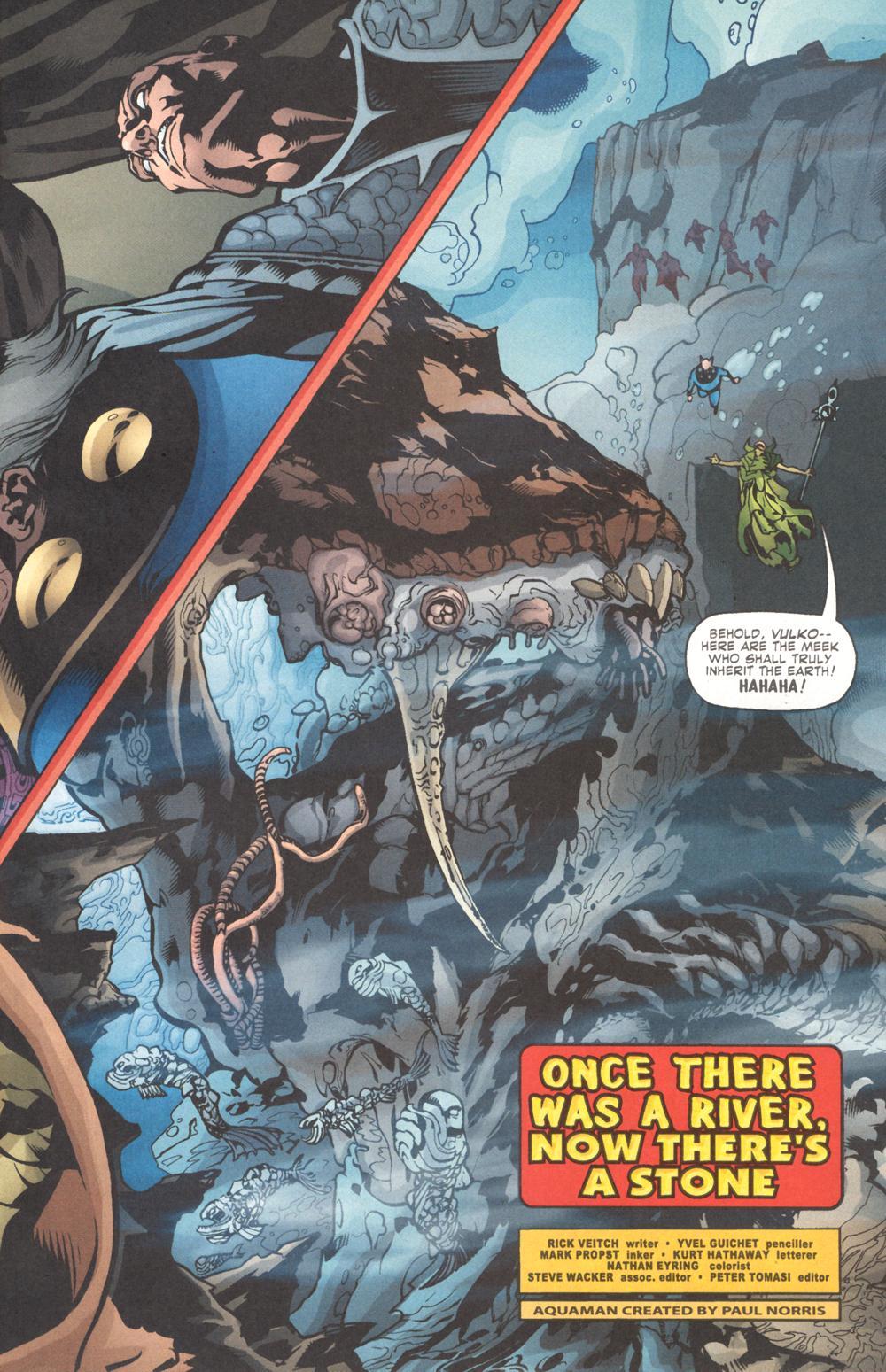 Read online Aquaman (2003) comic -  Issue #9 - 5