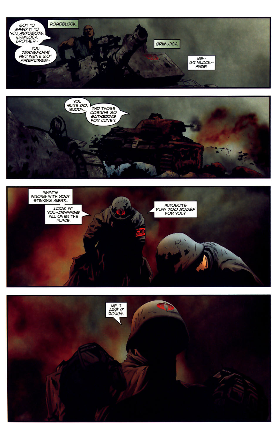 Read online Transformers/G.I. Joe comic -  Issue #3 - 19