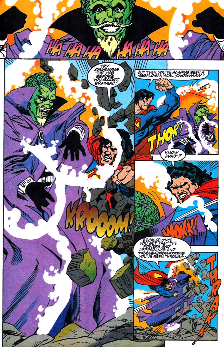 Read online Adventures of Superman (1987) comic -  Issue #519 - 16