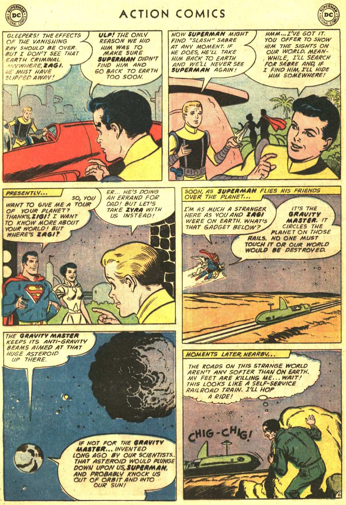 Read online Action Comics (1938) comic -  Issue #316 - 7