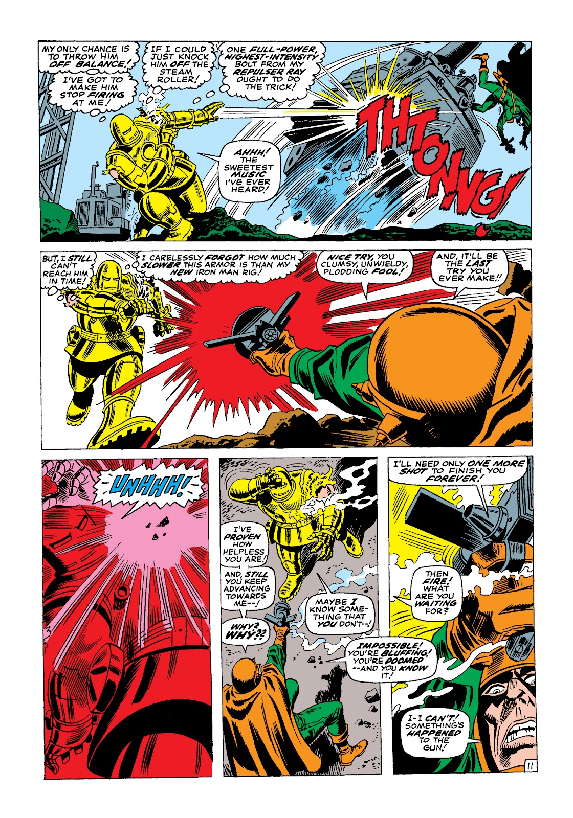 Read online Marvel Masterworks: The Invincible Iron Man comic -  Issue # TPB 4 (Part 1) - 95