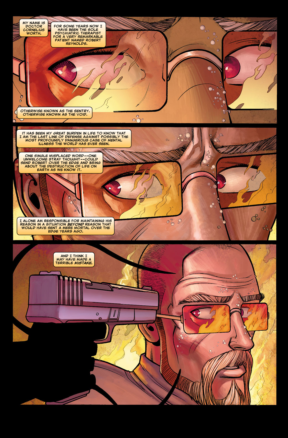 Read online Sentry (2006) comic -  Issue #5 - 3