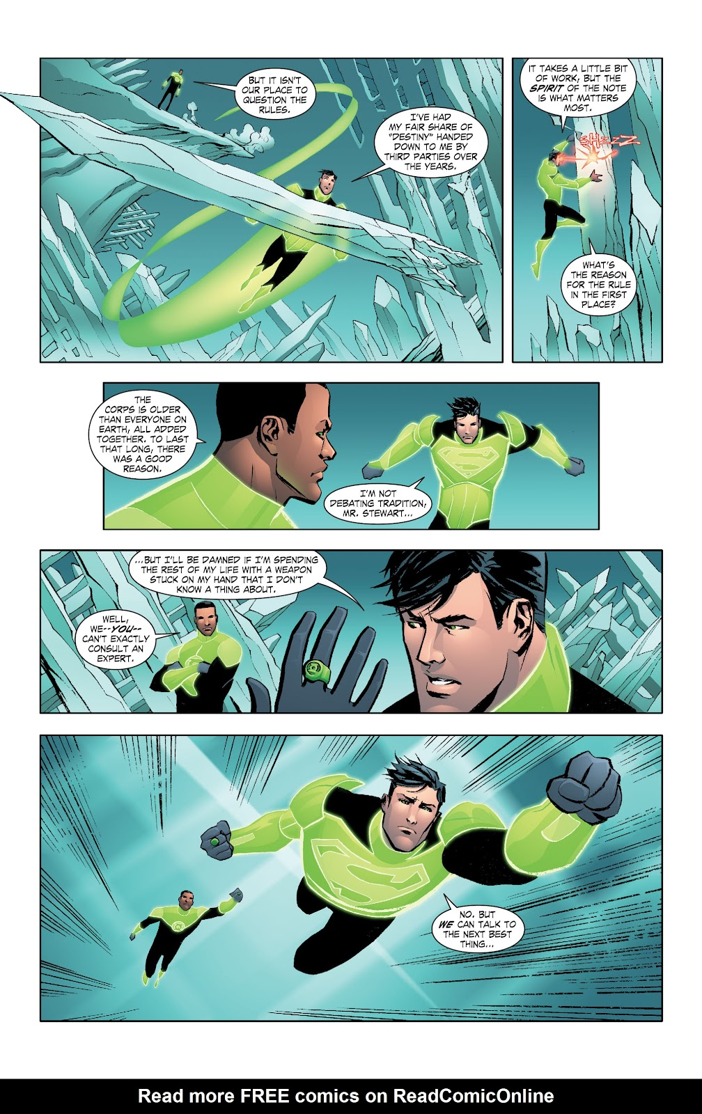 Read online Smallville Season 11 [II] comic -  Issue # TPB 7 - 42