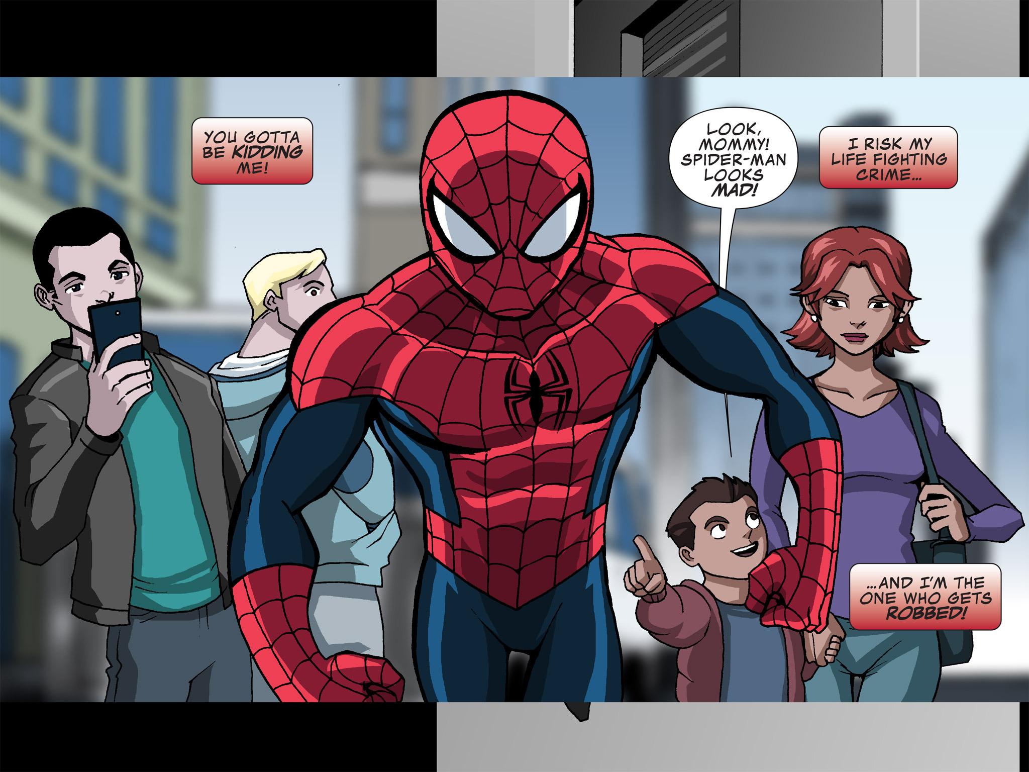 Read online Ultimate Spider-Man (Infinite Comics) (2015) comic -  Issue #12 - 36