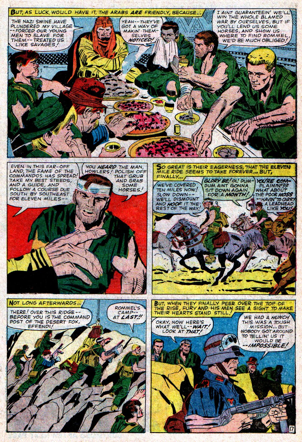 Read online Sgt. Fury comic -  Issue #6 - 23