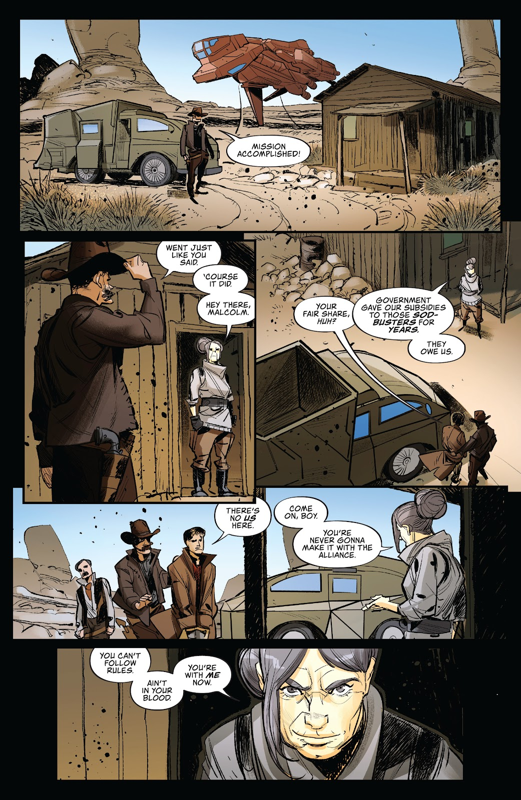 Read online Firefly: The Outlaw Ma Reynolds comic -  Issue # Full - 31