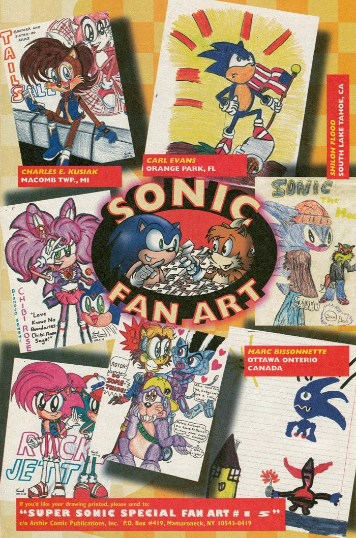 Read online Sonic Super Special comic -  Issue #15 - Naugus games - 40