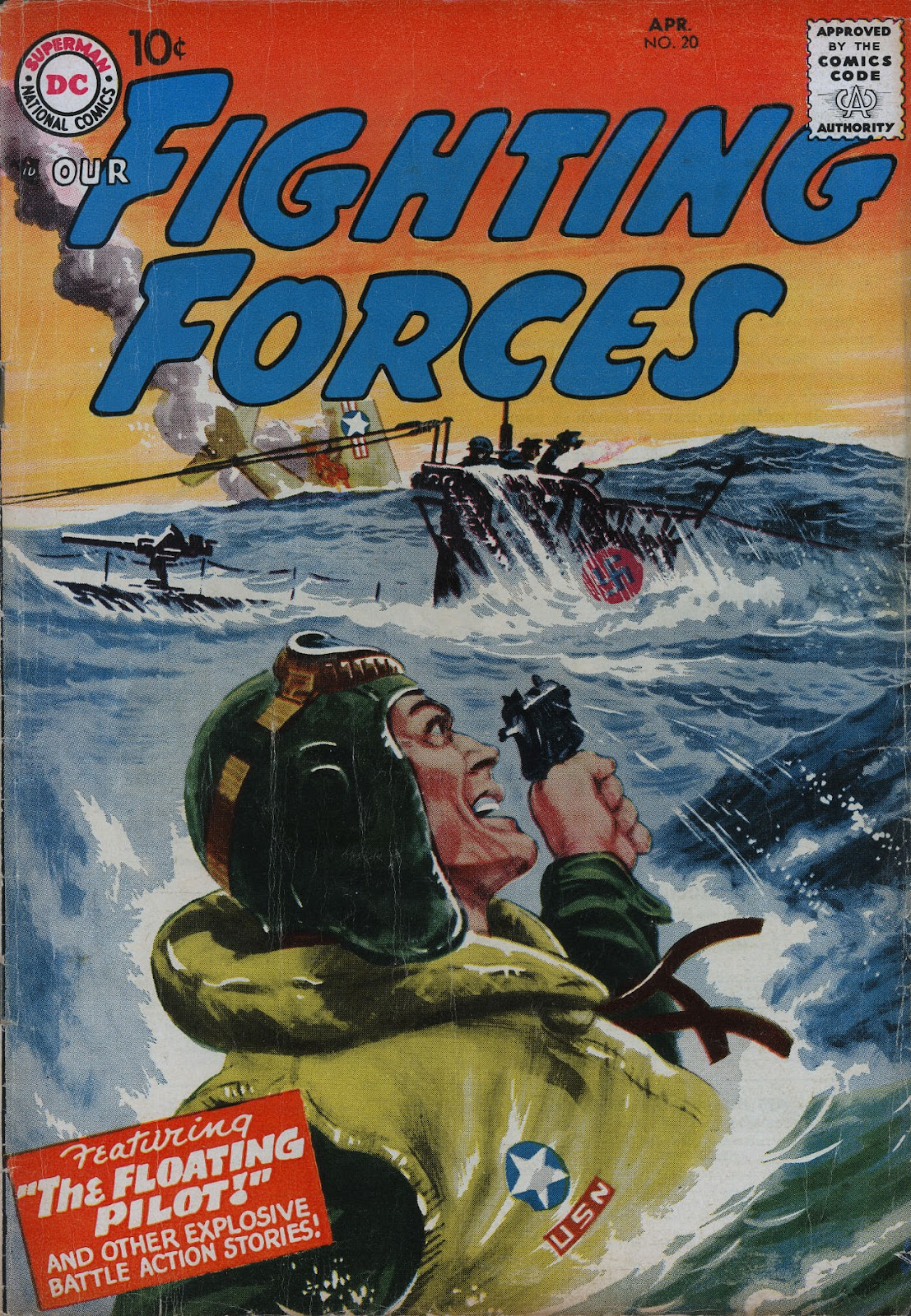 Our Fighting Forces (1954) issue 20 - Page 1
