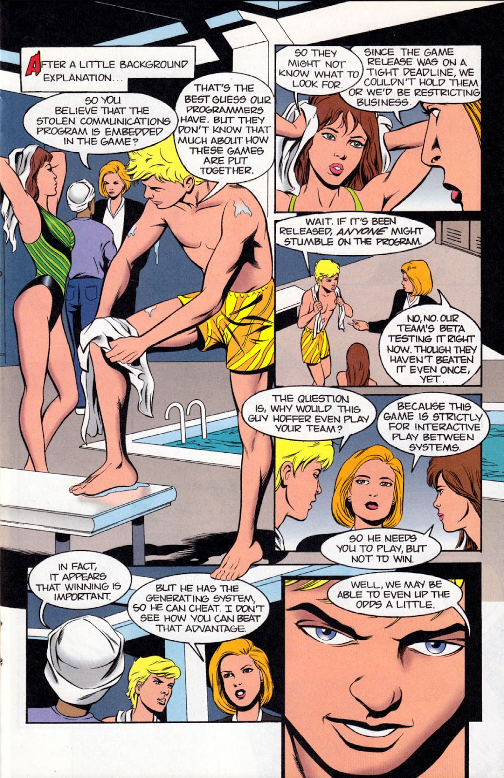 Read online The Real Adventures of Jonny Quest comic -  Issue #8 - 15