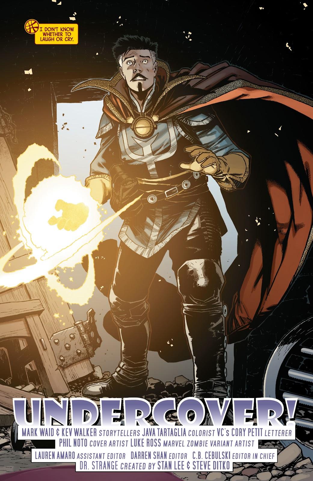 Read online Dr. Strange comic -  Issue #5 - 2