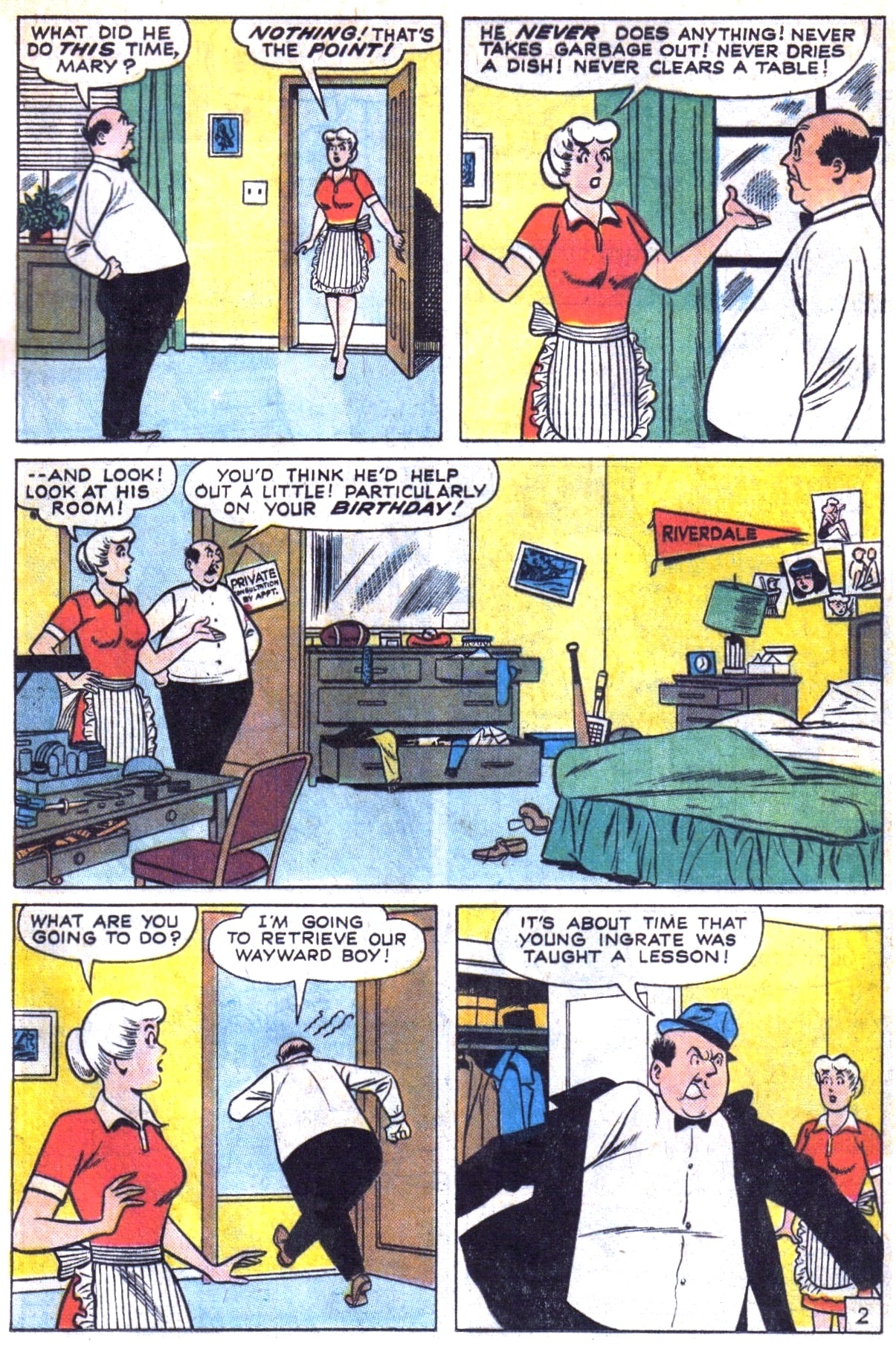 Read online Archie (1960) comic -  Issue #153 - 29