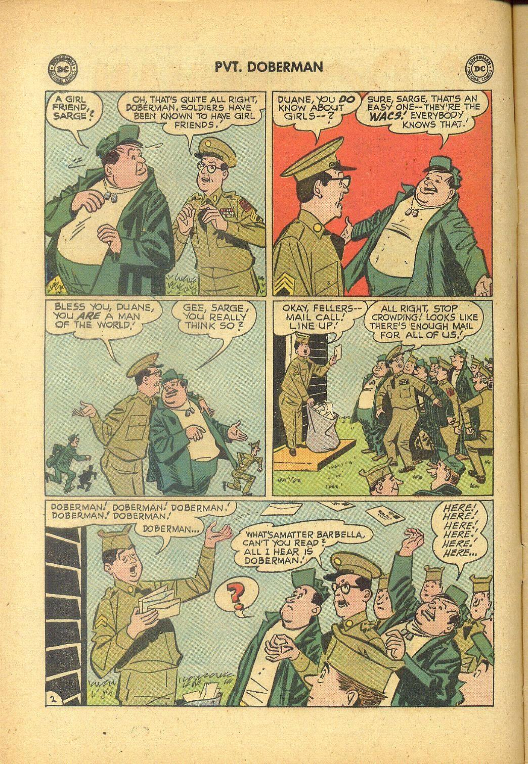 Sgt. Bilko's Pvt. Doberman issue 1 - Page 4