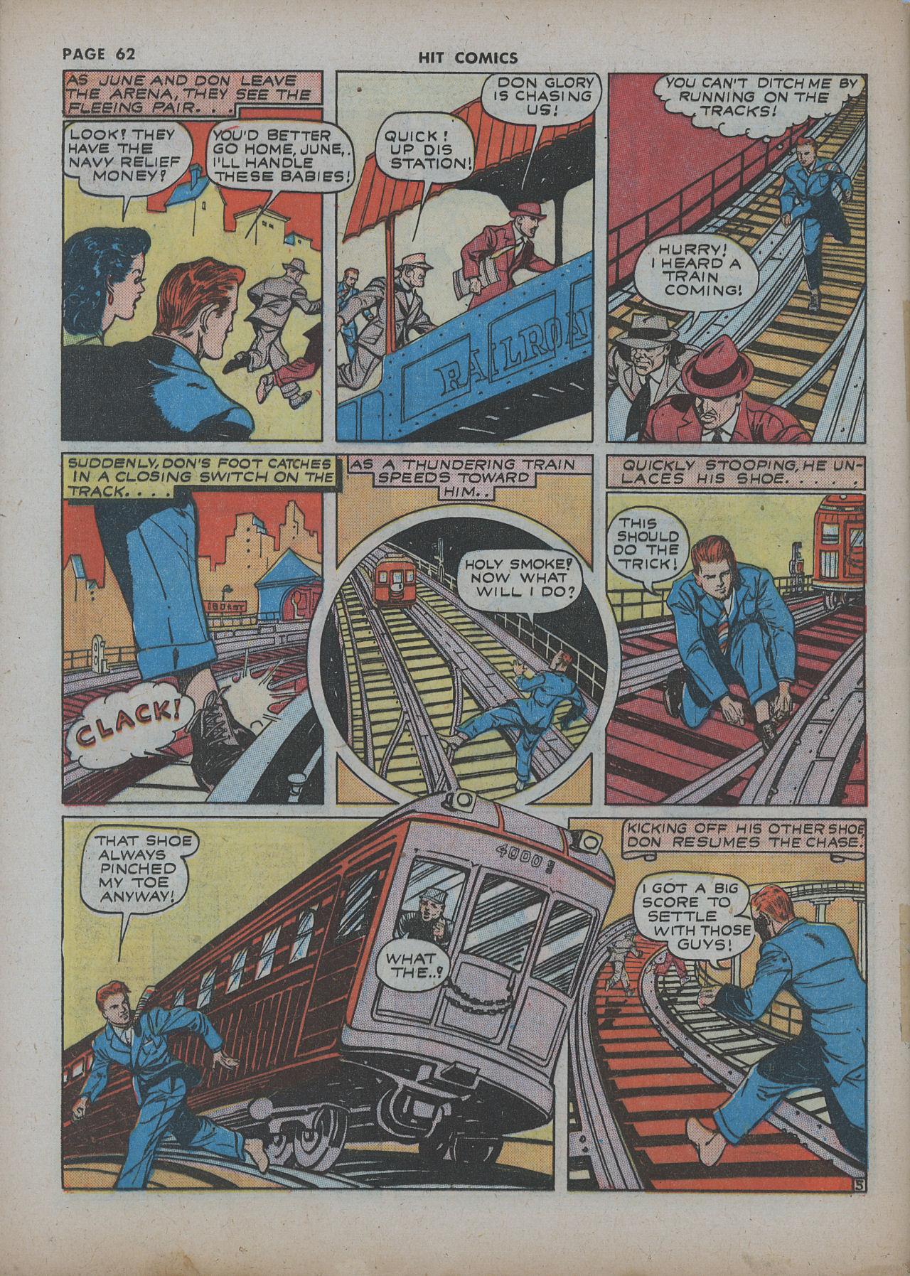 Read online Hit Comics comic -  Issue #22 - 64