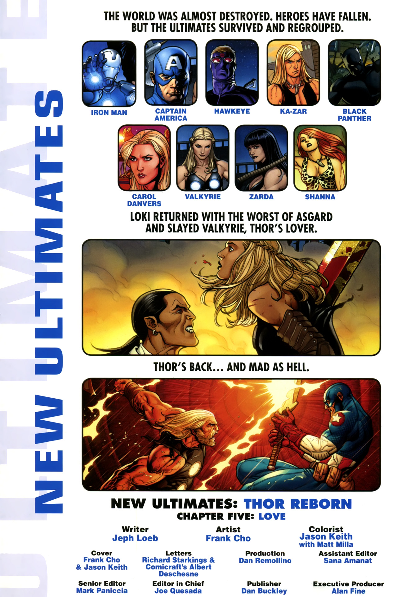 Read online Ultimate New Ultimates comic -  Issue #5 - 2