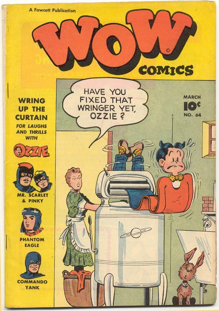 Wow Comics 64 Page 1