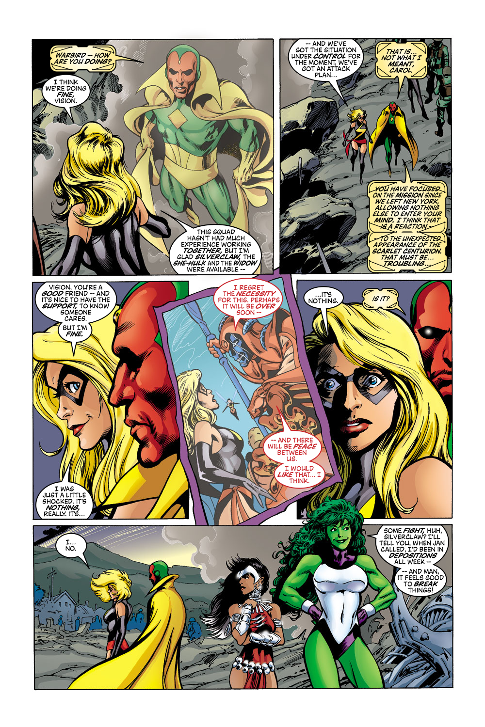 Read online Avengers (1998) comic -  Issue #43 - 11