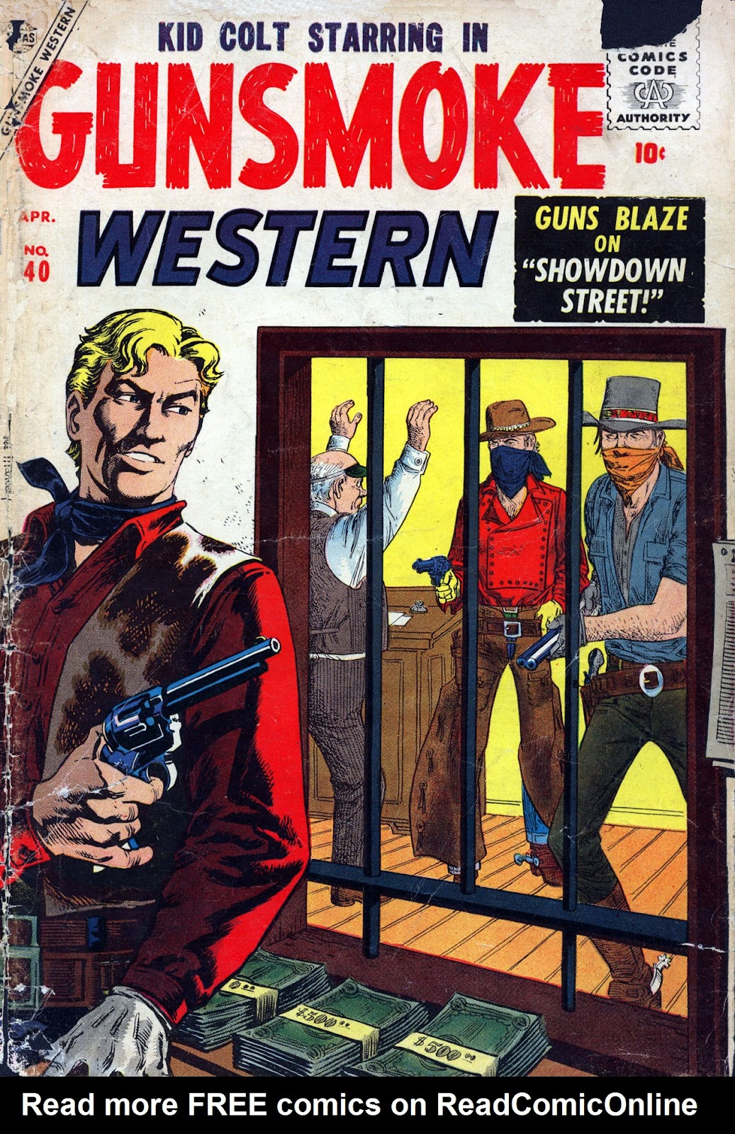 Gunsmoke Western issue 40 - Page 1