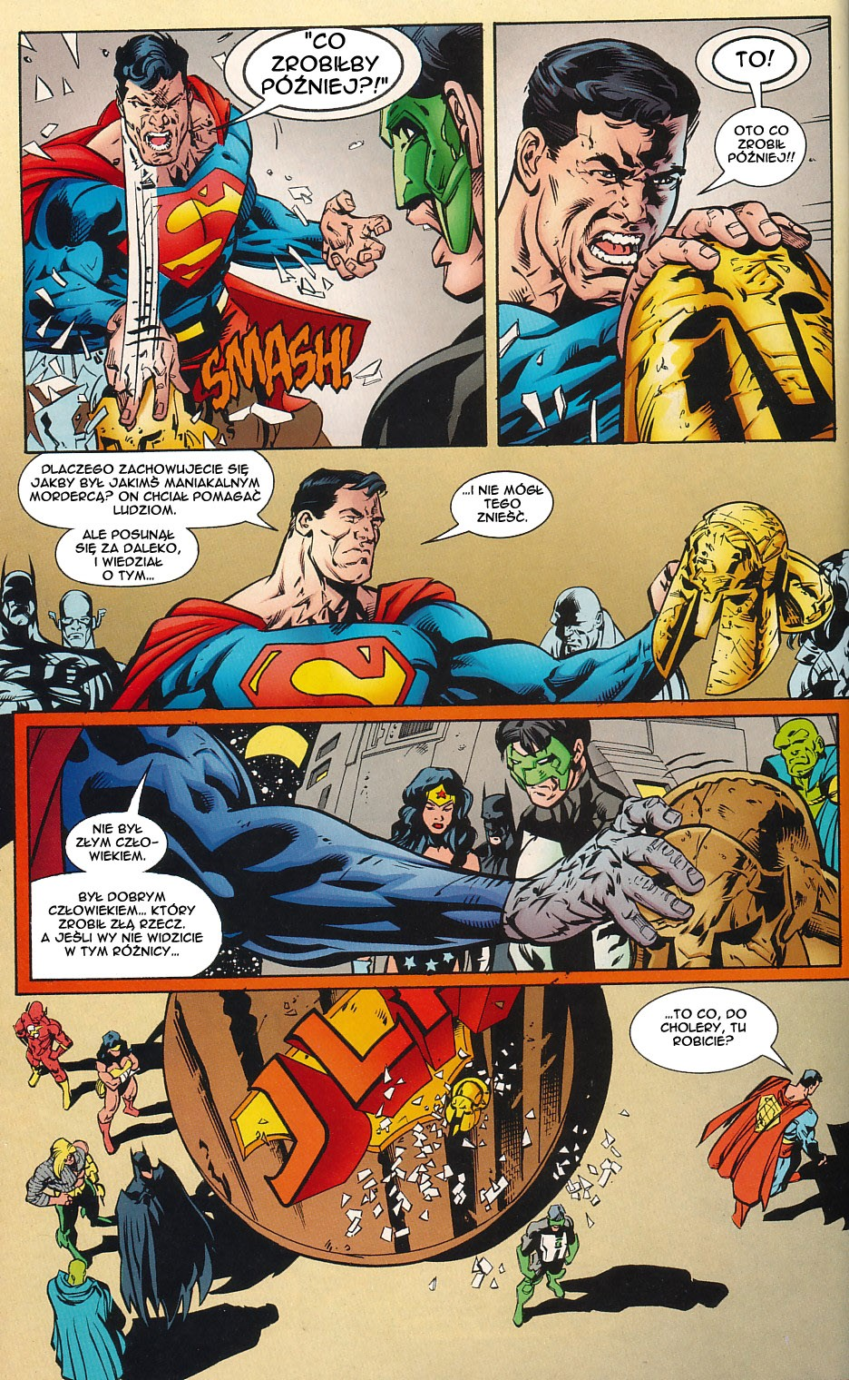 Read online JLA Superpower comic -  Issue # Full - 64