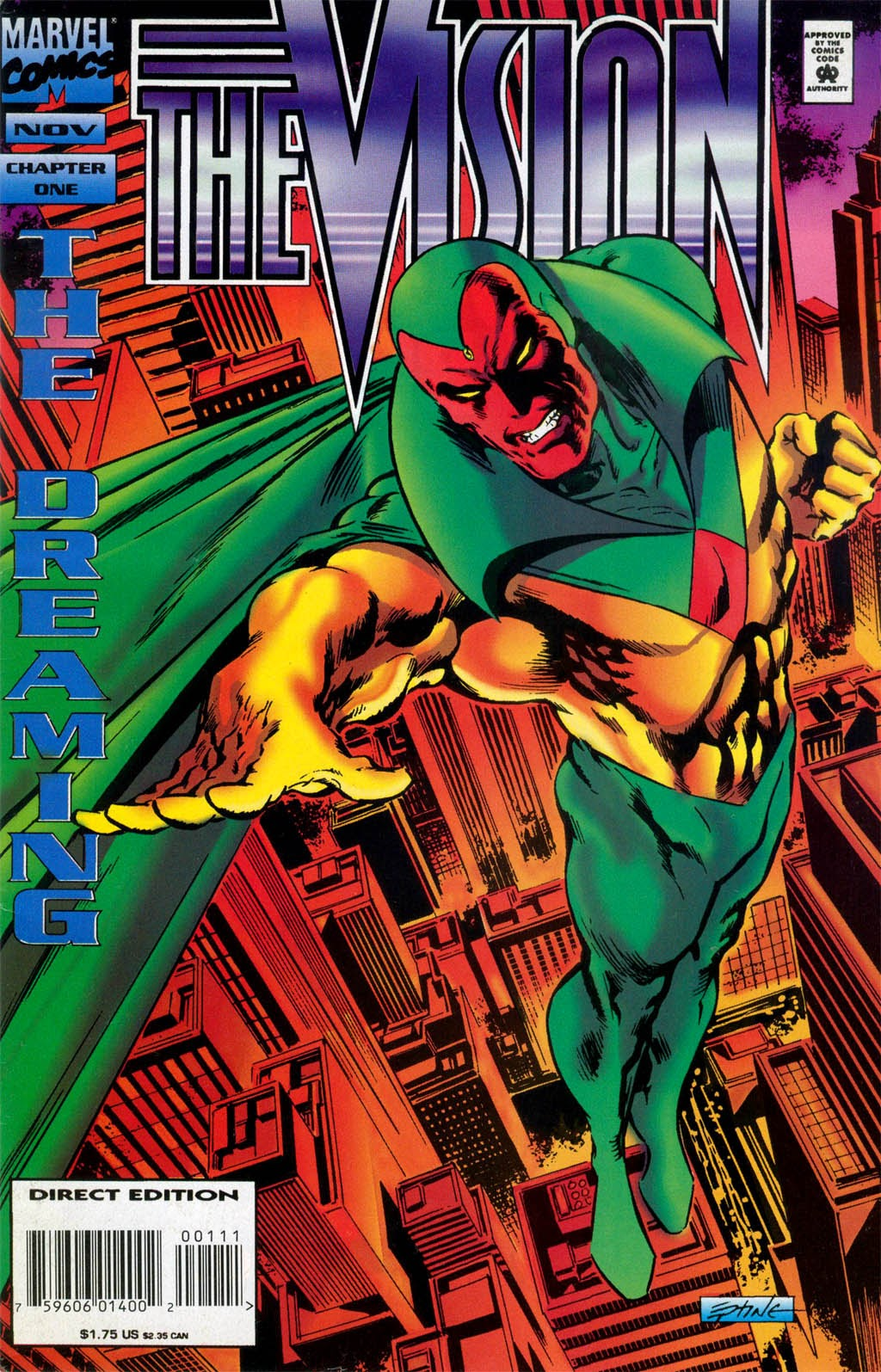 Read online The Vision comic -  Issue #1 - 1