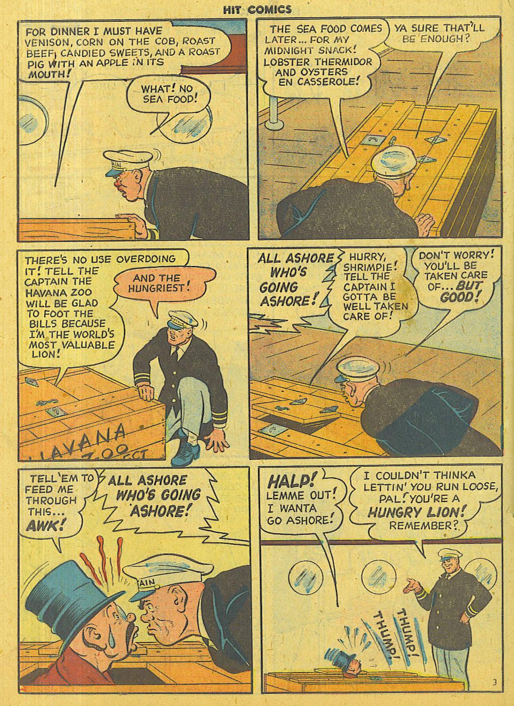 Read online Hit Comics comic -  Issue #56 - 40