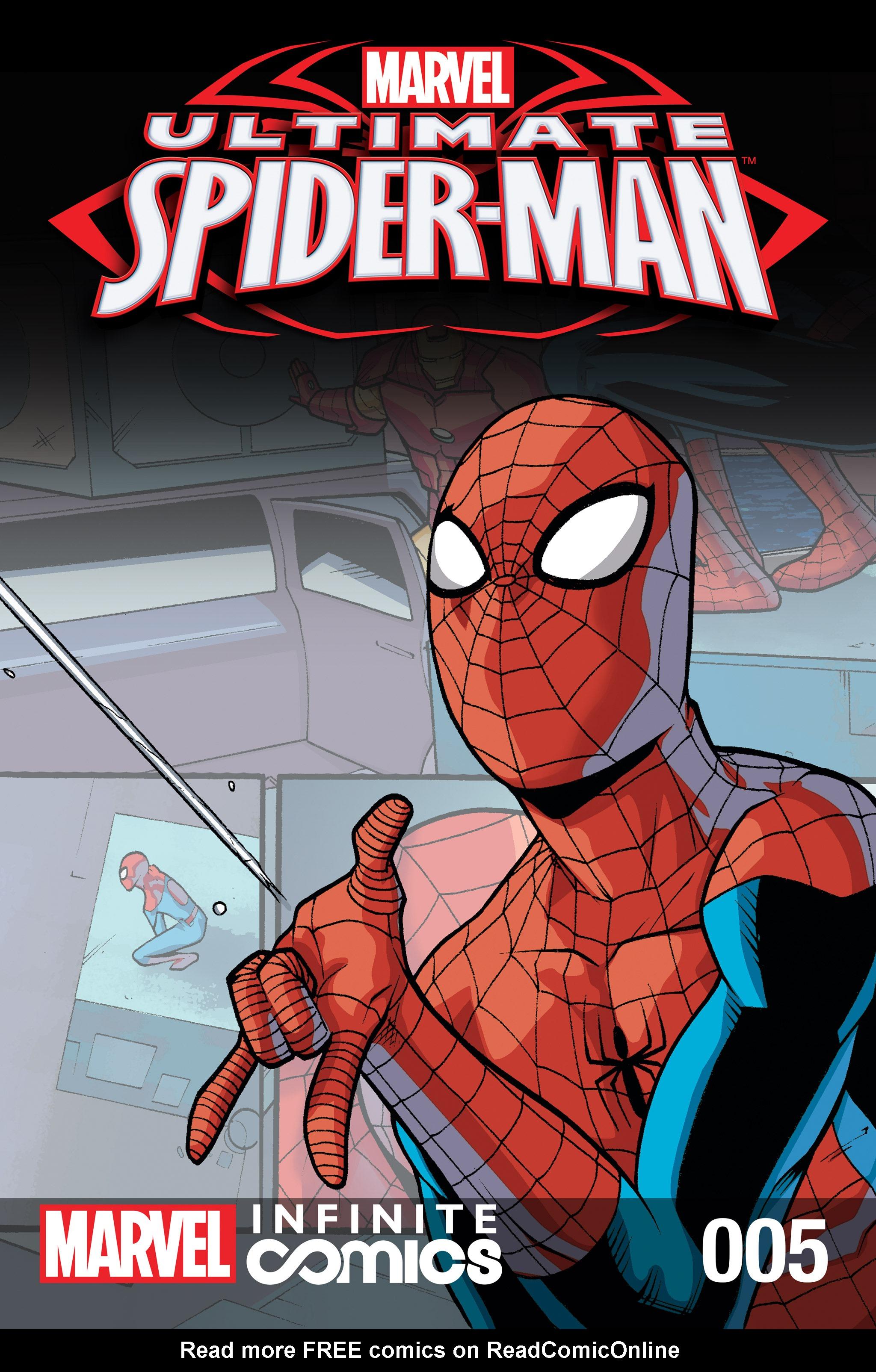 Read online Ultimate Spider-Man (Infinite Comics) (2016) comic -  Issue #5 - 1