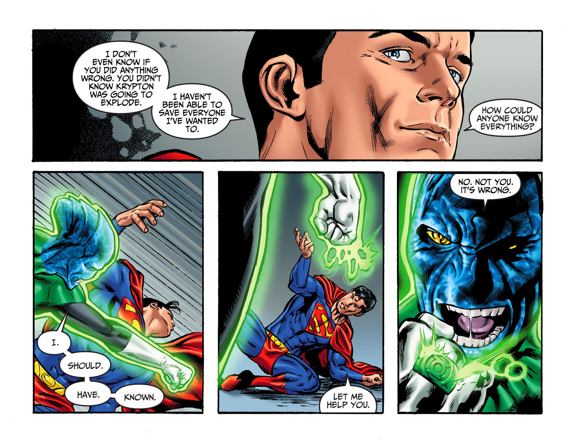 Read online Adventures of Superman [I] comic -  Issue #32 - 10