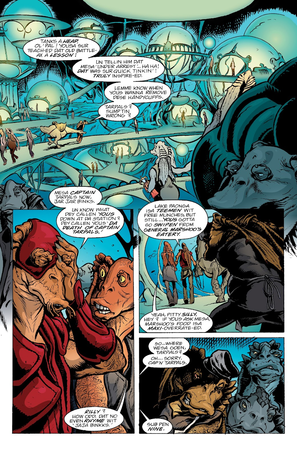 Read online Star Wars Legends: Rise of the Sith - Epic Collection comic -  Issue # TPB 2 (Part 3) - 33