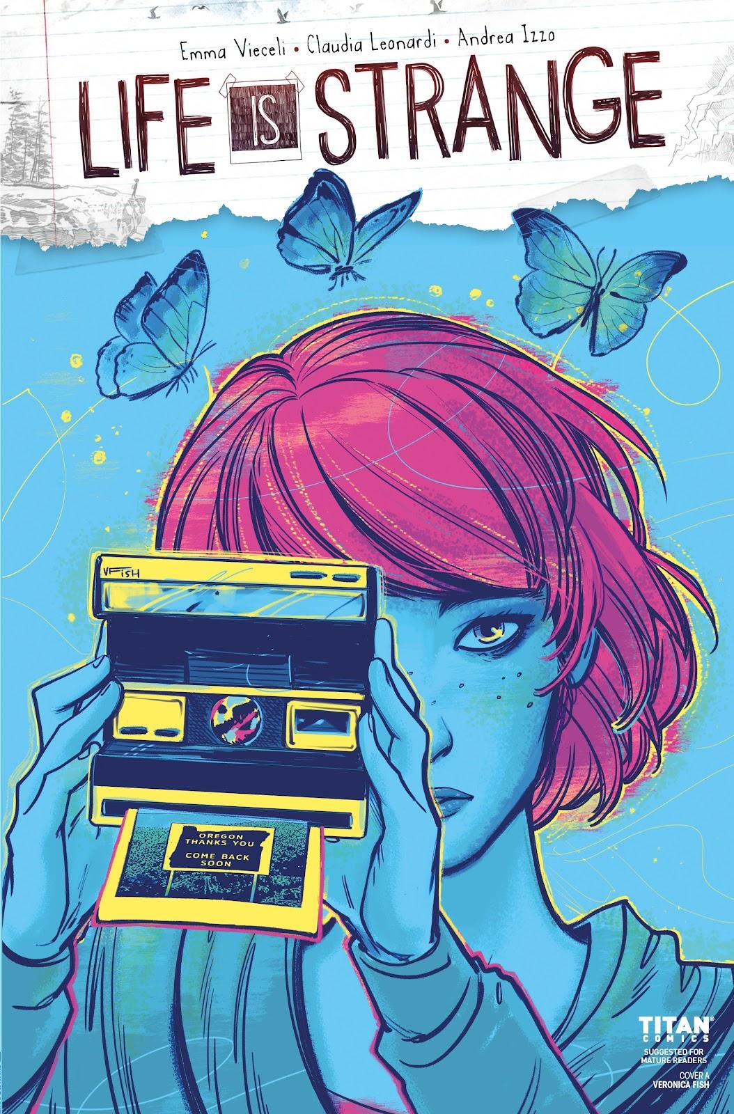 Read online Life is Strange comic -  Issue #5 - 1