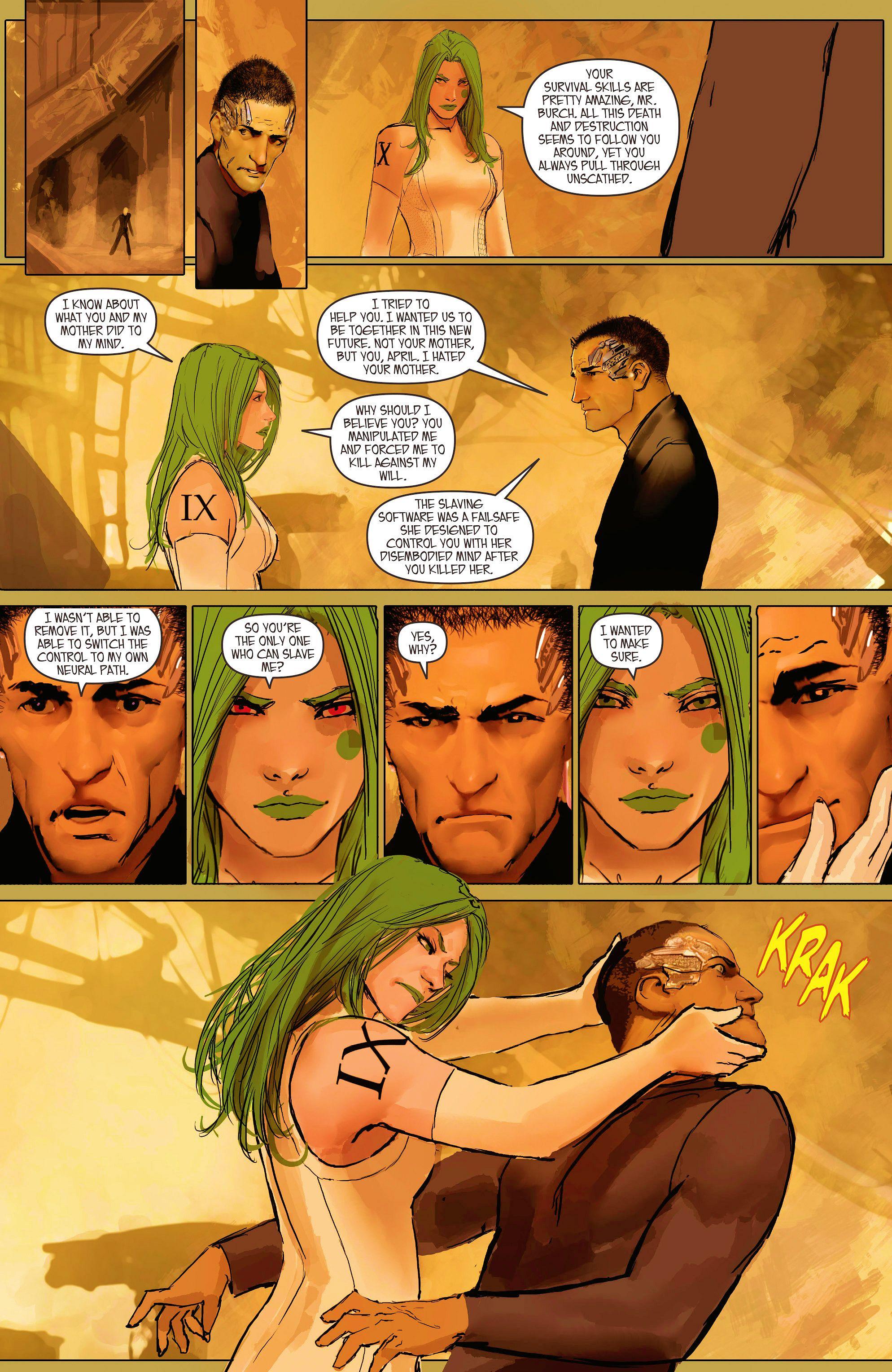 Read online Aphrodite IX (2013) comic -  Issue #11 - 25