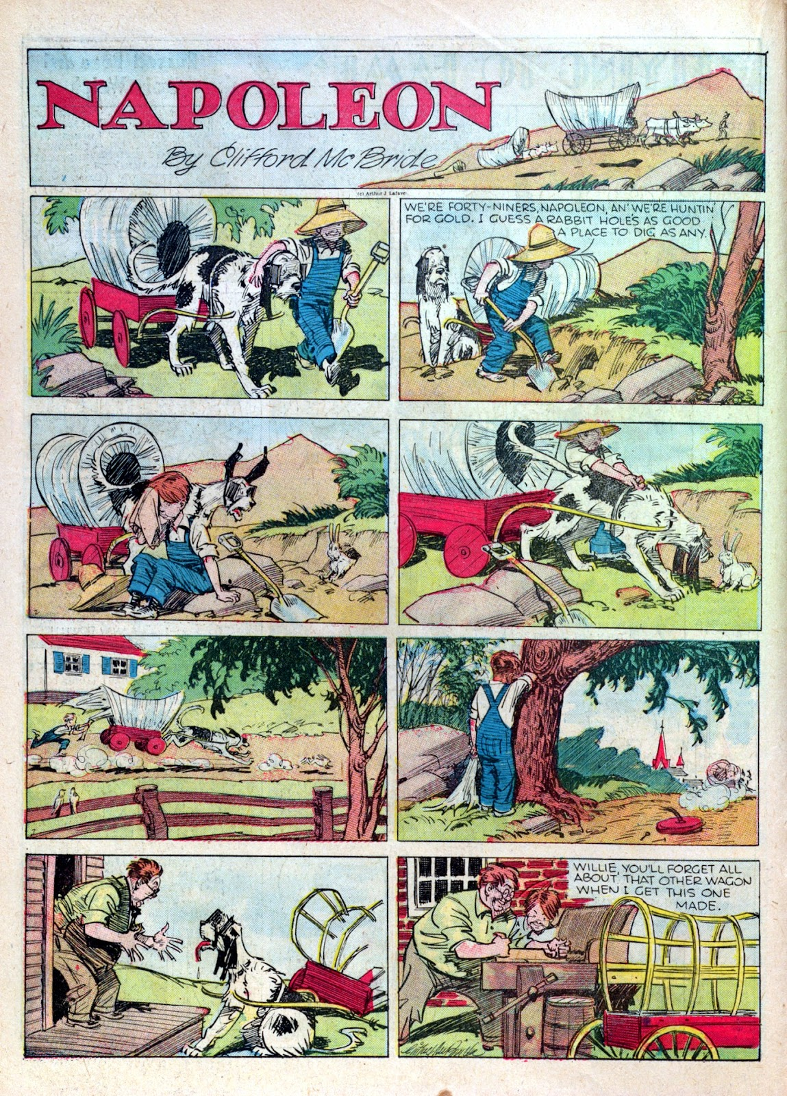 Read online Famous Funnies comic -  Issue #16 - 32
