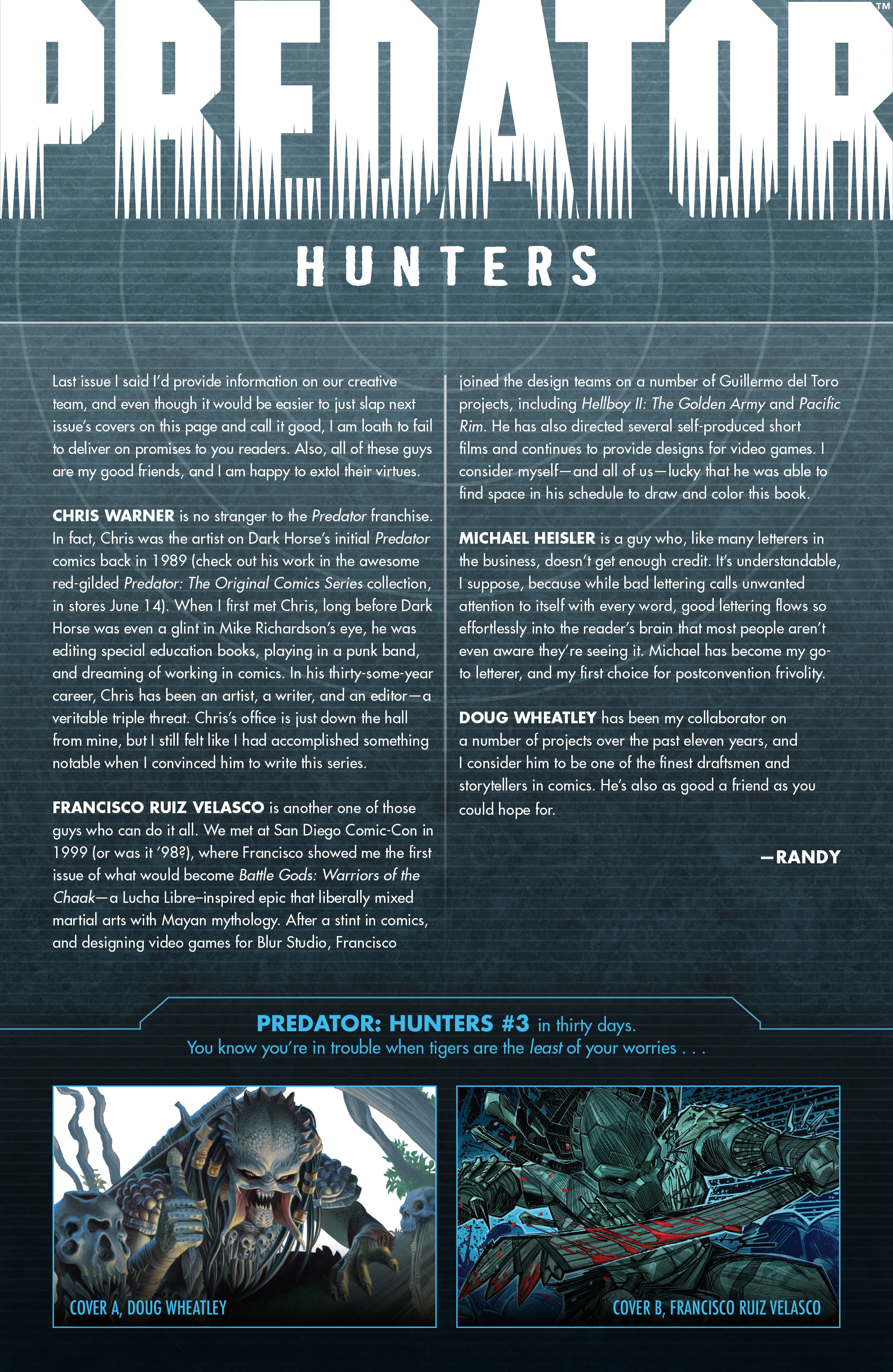 Read online Predator: Hunters comic -  Issue #2 - 26