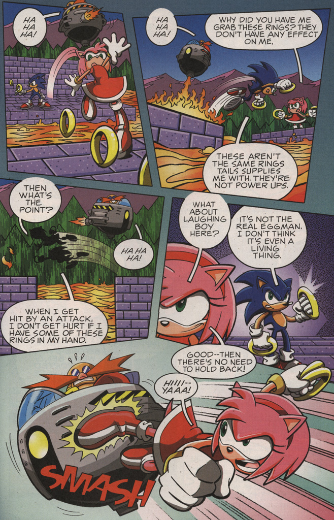 Read online Sonic X comic -  Issue #10 - 29