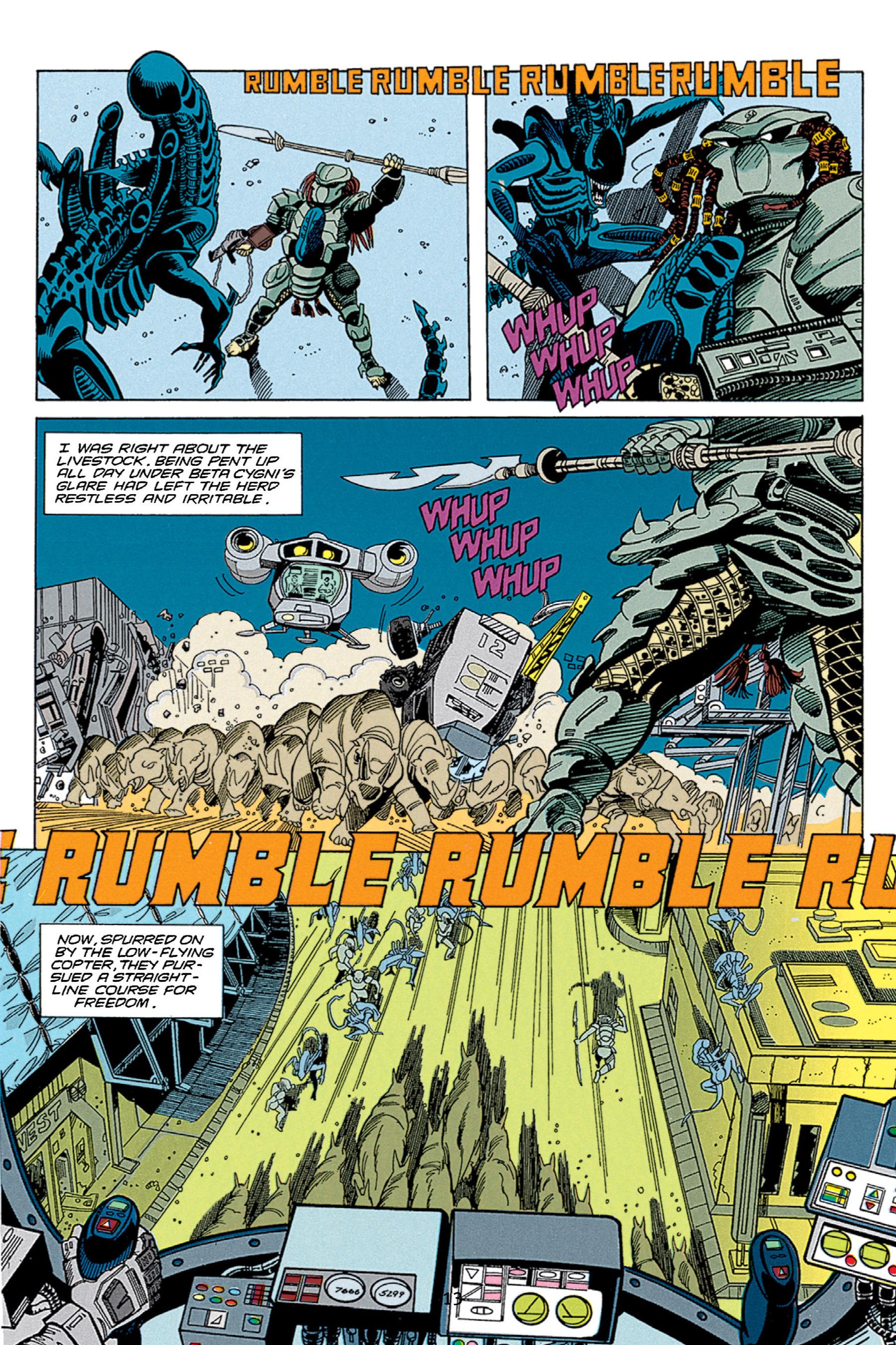 Read online Aliens vs. Predator Omnibus comic -  Issue # _TPB 1 Part 2 - 12