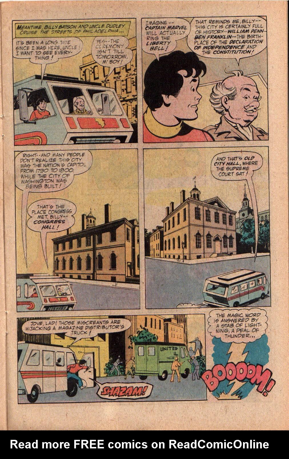Read online Shazam! (1973) comic -  Issue #27 - 9