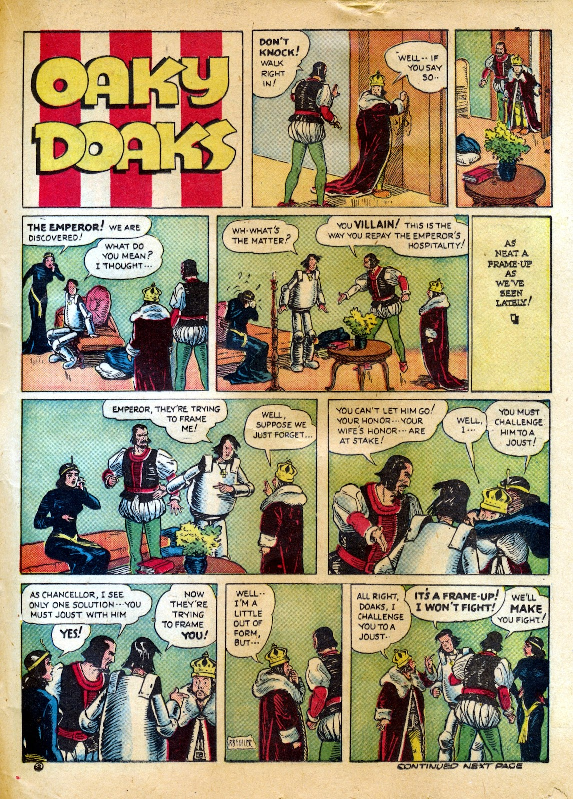 Read online Famous Funnies comic -  Issue #82 - 39