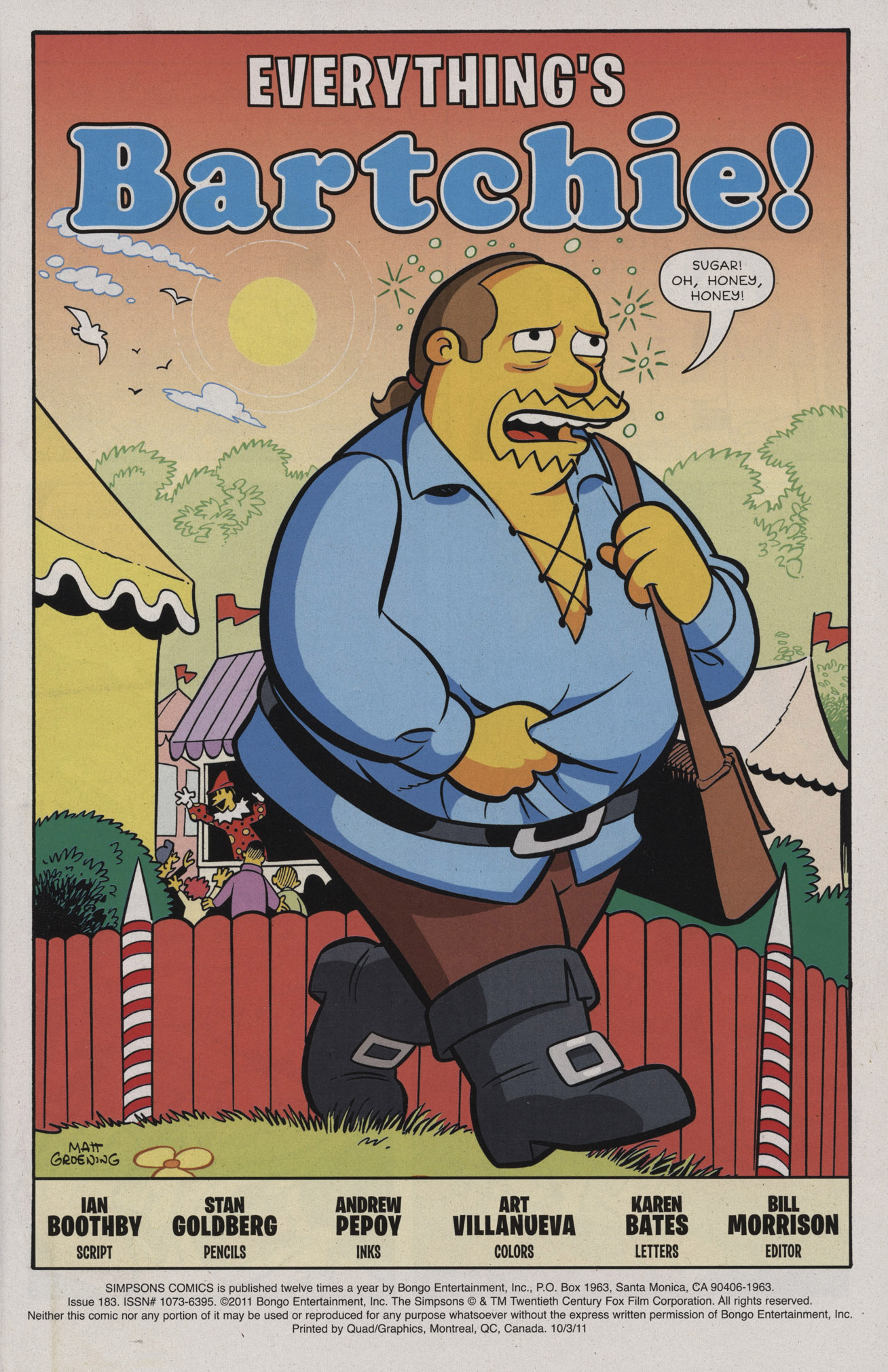 Read online Simpsons Comics comic -  Issue #183 - 3