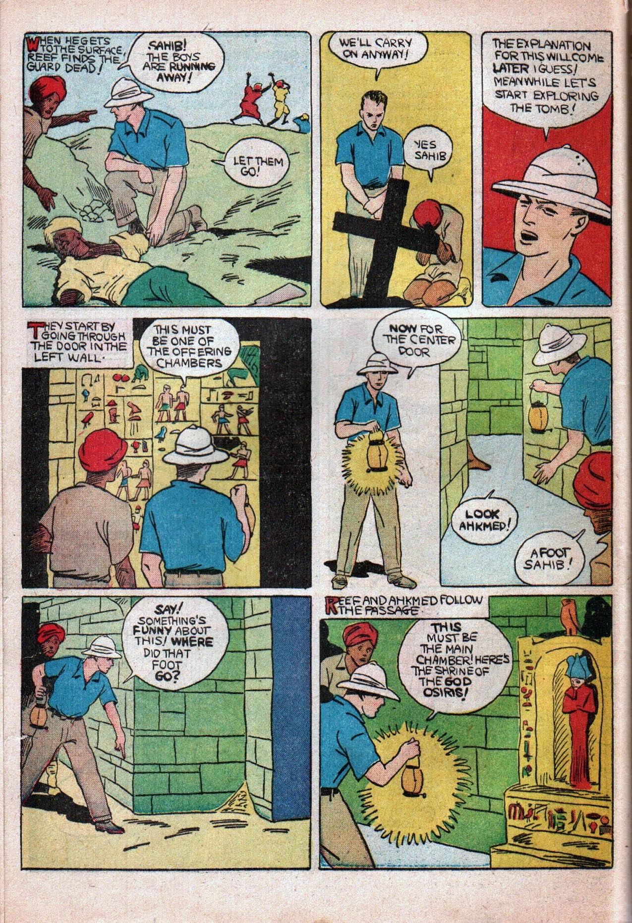 Read online Amazing Man Comics comic -  Issue #20 - 55