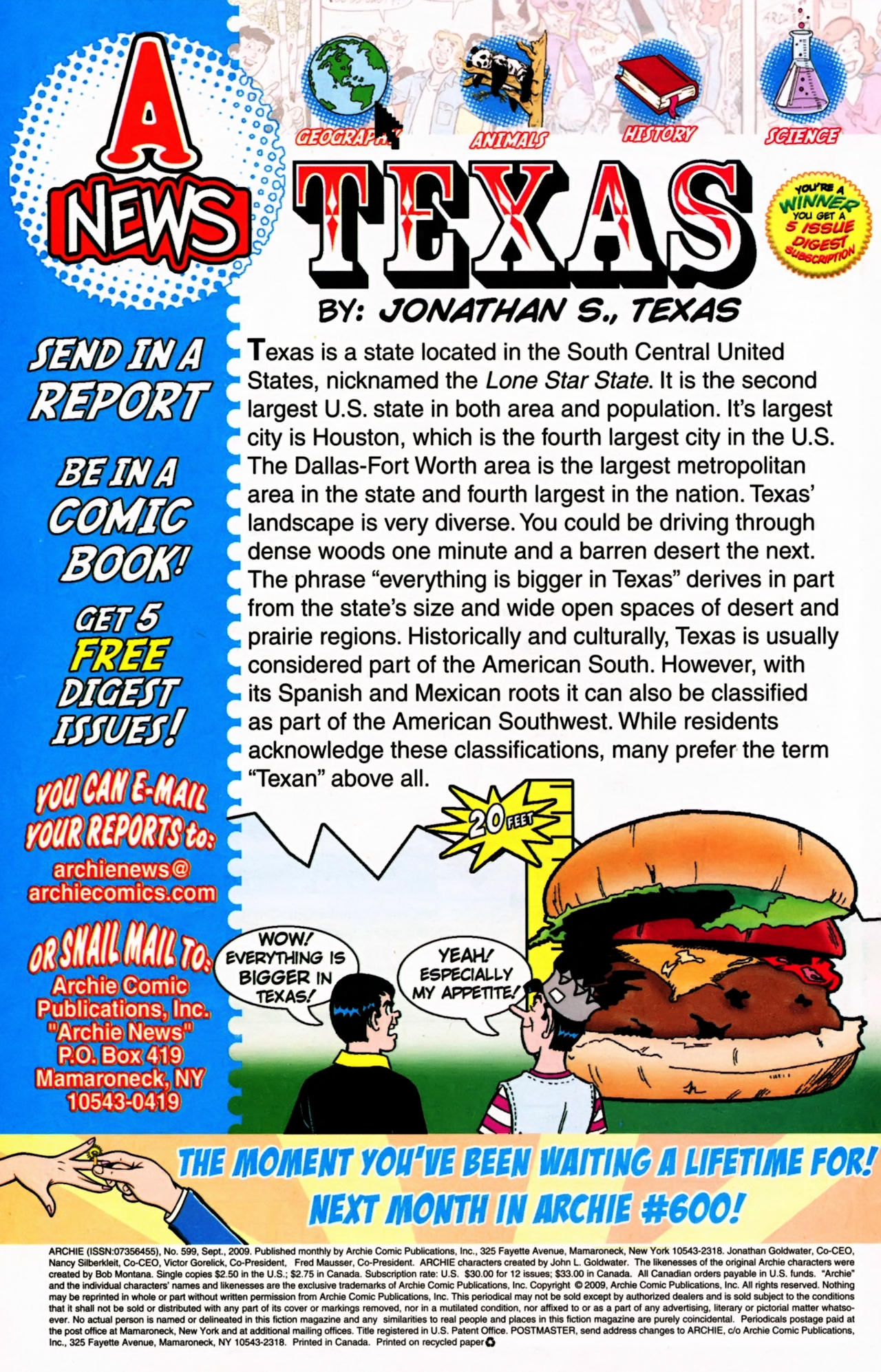 Read online Archie (1960) comic -  Issue #599 - 34