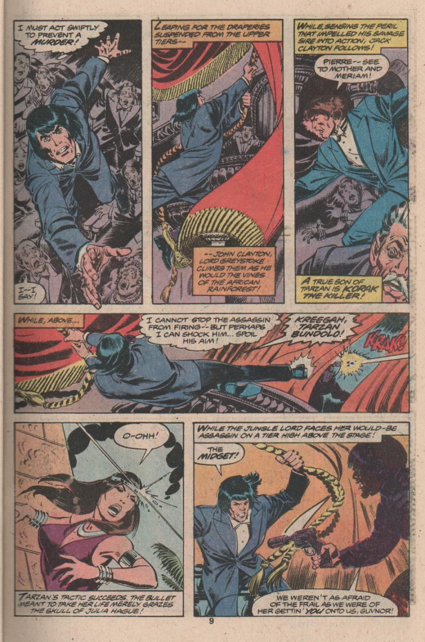 Read online Tarzan (1977) comic -  Issue # _Annual 3 - 8