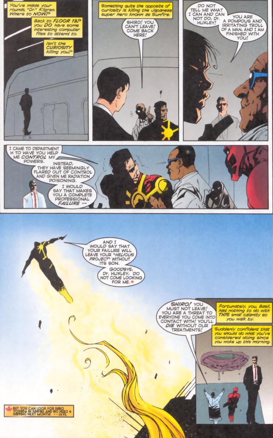Read online Alpha Flight (1997) comic -  Issue #13 - 16