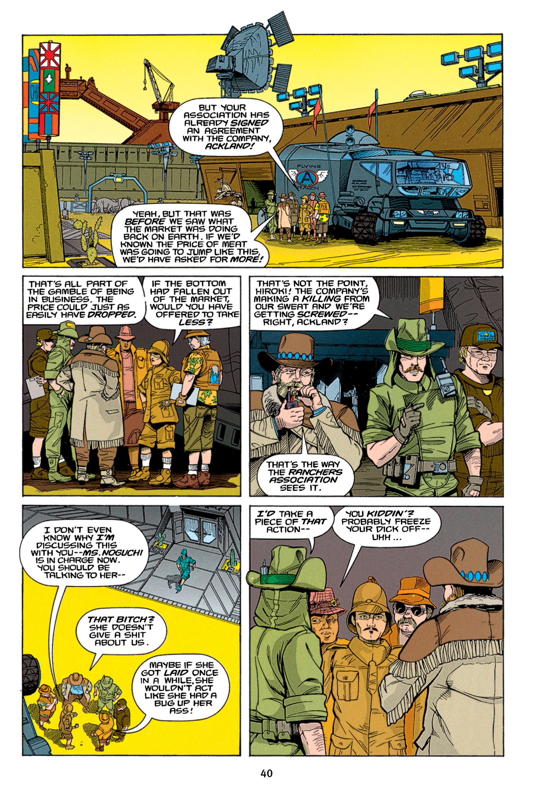 Read online Aliens vs. Predator Omnibus comic -  Issue # _TPB 1 Part 1 - 40