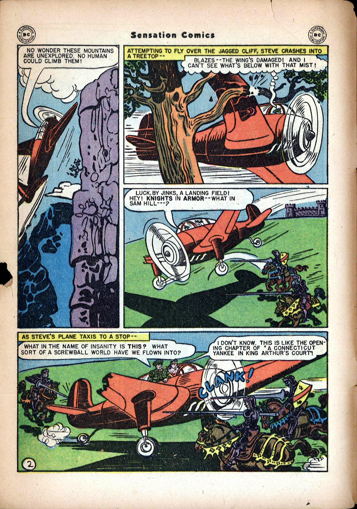 Read online Sensation (Mystery) Comics comic -  Issue #62 - 4