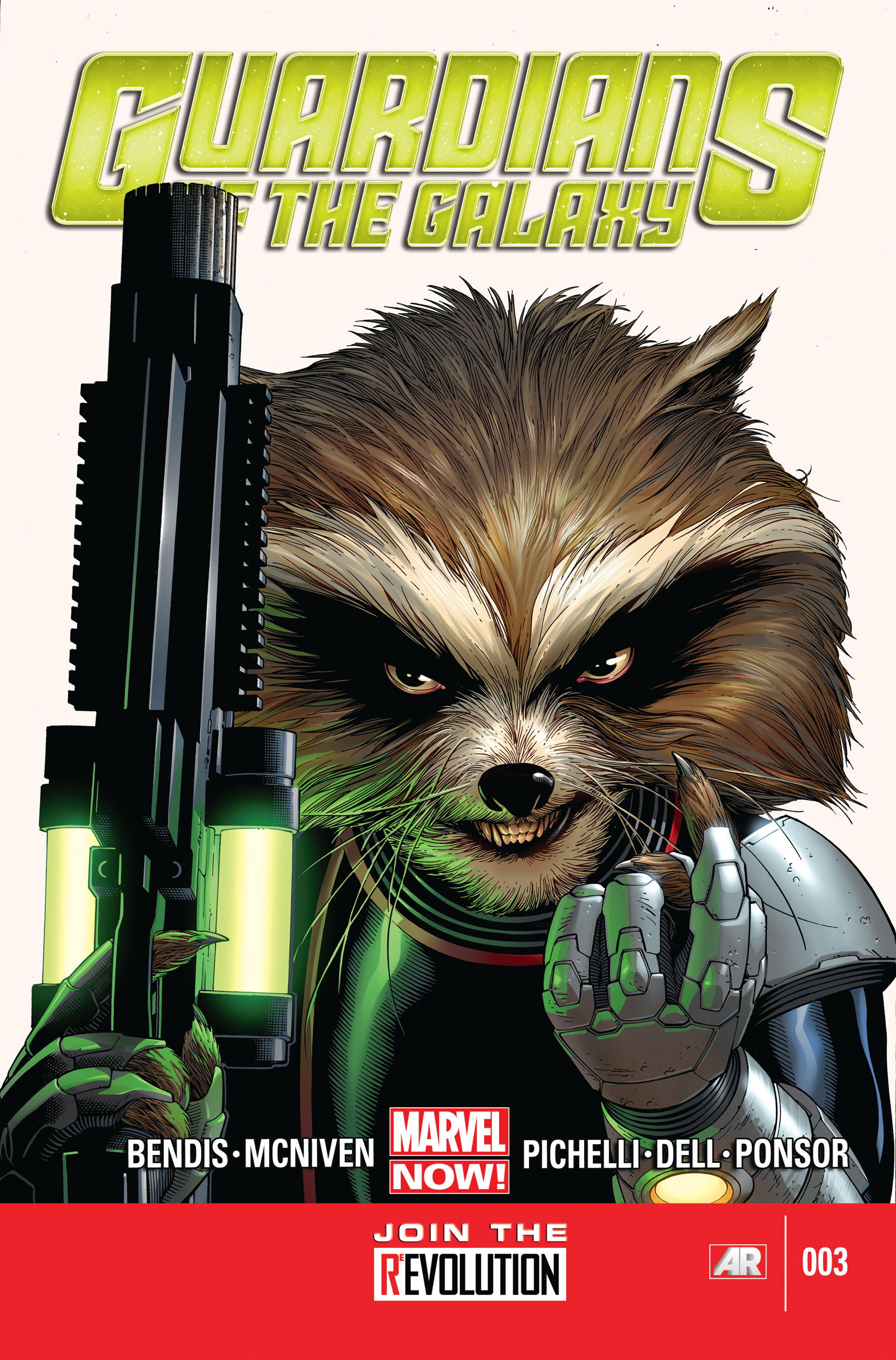 Guardians of the Galaxy (2013) 3 Page 1
