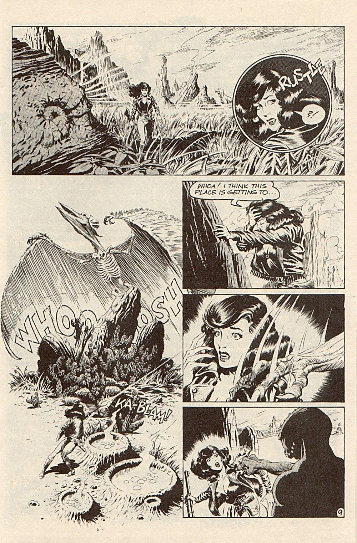Read online Xenozoic Tales comic -  Issue #3 - 12