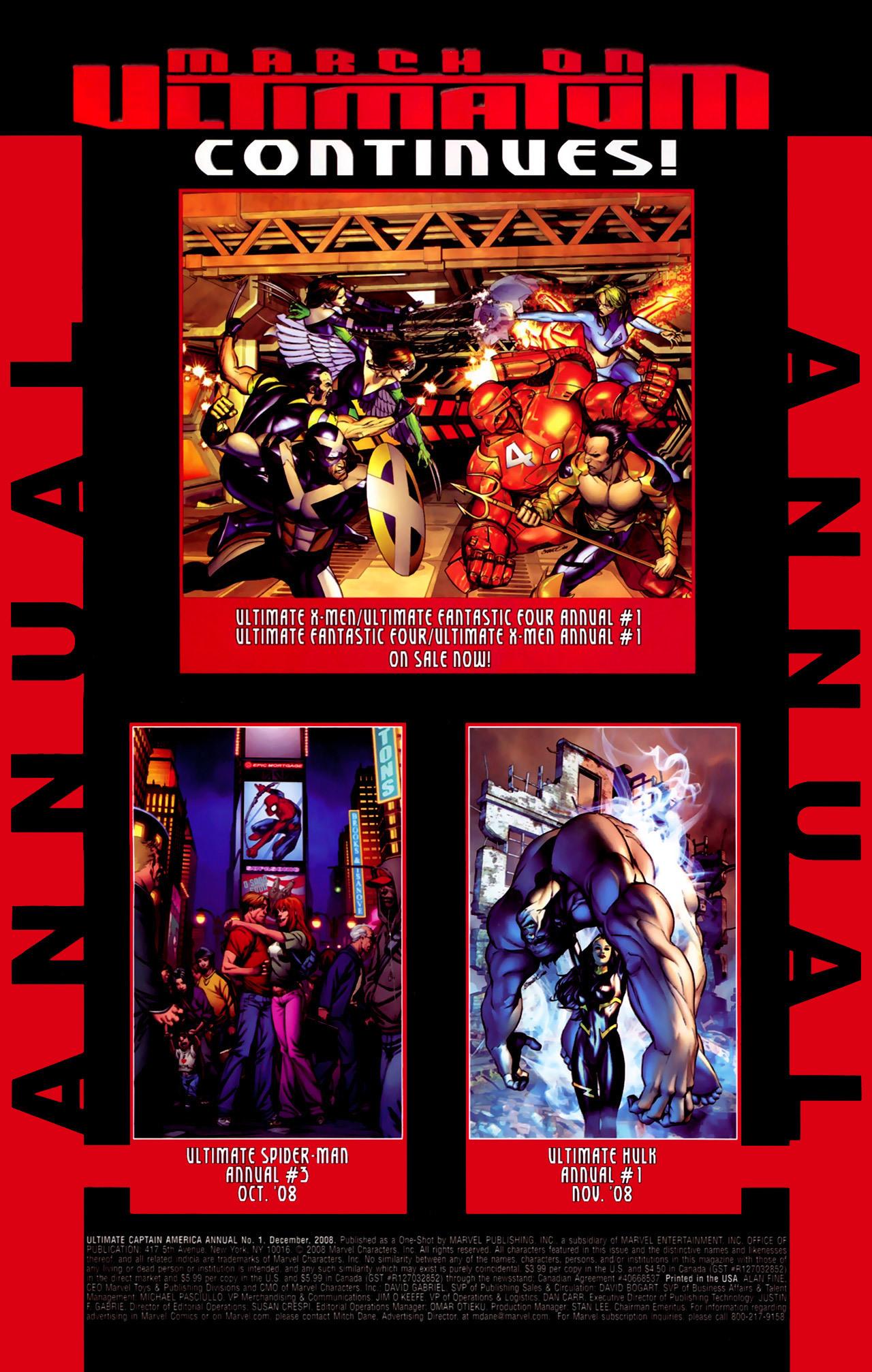 Read online Ultimate Captain America (2008) comic -  Issue # Full - 32