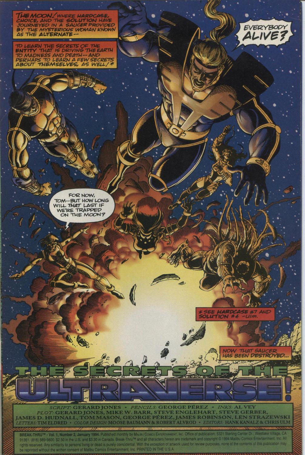Read online Break-Thru comic -  Issue #2 - 2