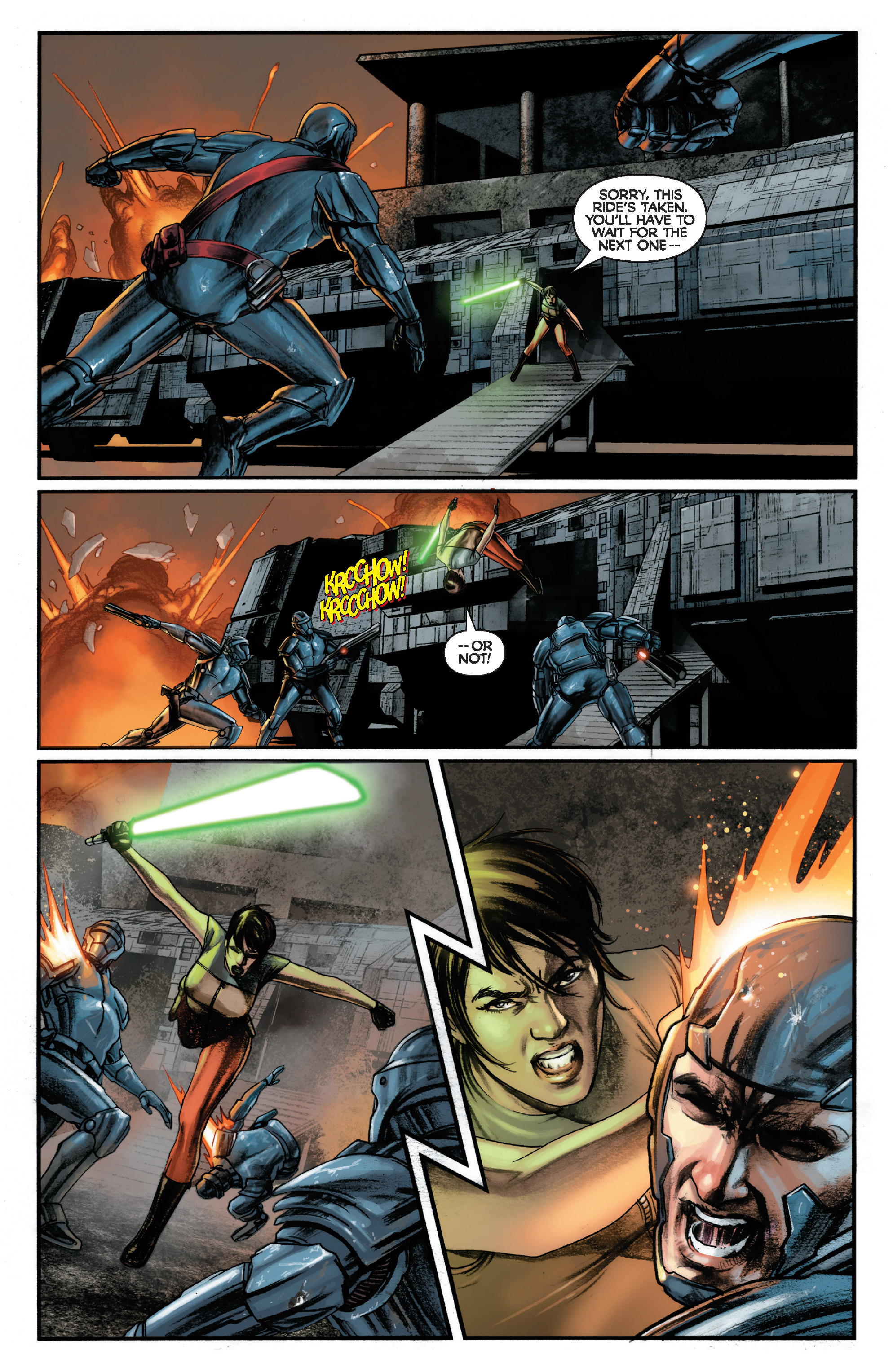 Read online Star Wars: Knight Errant - Deluge comic -  Issue #1 - 6