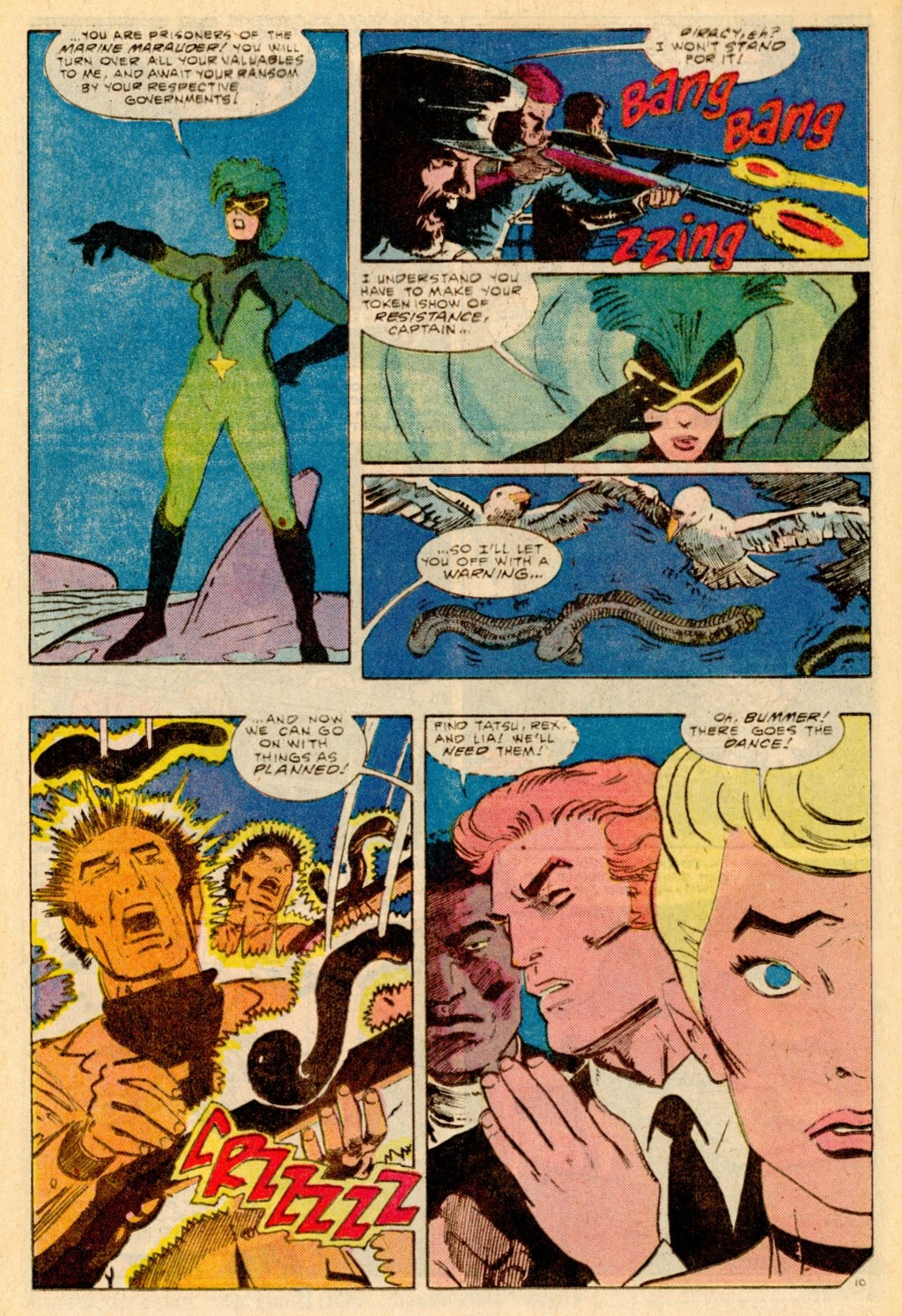 Read online Adventures of the Outsiders comic -  Issue #37 - 11